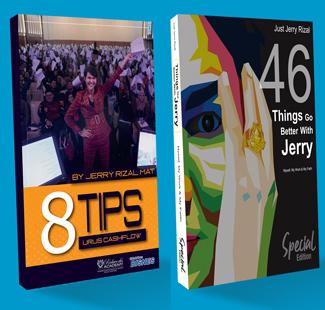 Jerry Lancar Dua Buku