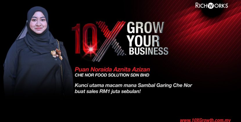 Kunci Utama Macam Mana Sambal Garing Che Nor Buat Sales RM1 juta sebulan!