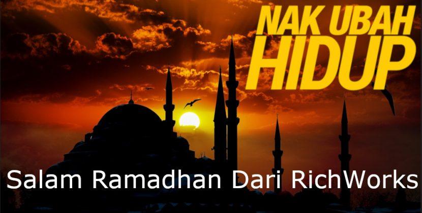 Salam Ramadhan Dan Selamat Berpuasa!  Jangan Biarkan Bisnes Anda 'Berpuasa' Juga…
