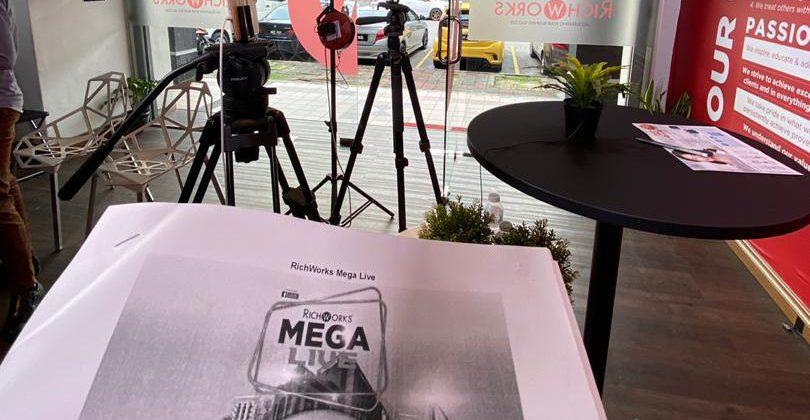 RichWorks Megalive – Helaian Sejarah Baru Tercipta Di RichWorks!