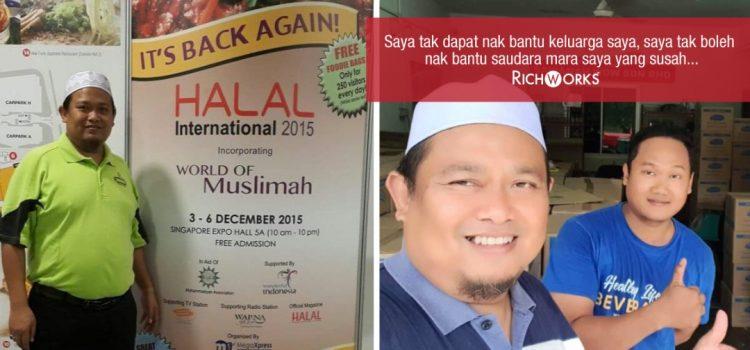 Bengang Dengan Kesusahan Dulu, Hirman Cipta Minuman Koko Sampai Mampu Capai Sales RM5 Juta..